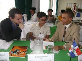 Delegados en Guatemala