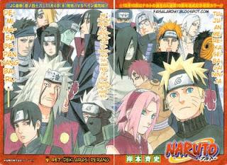 Komik Naruto 467 - Deklarasi Perang
