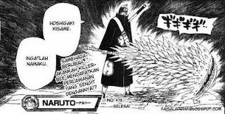 Komik Naruto 470 - Kisame vs KillerBee