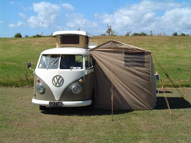 Kombi with Tent