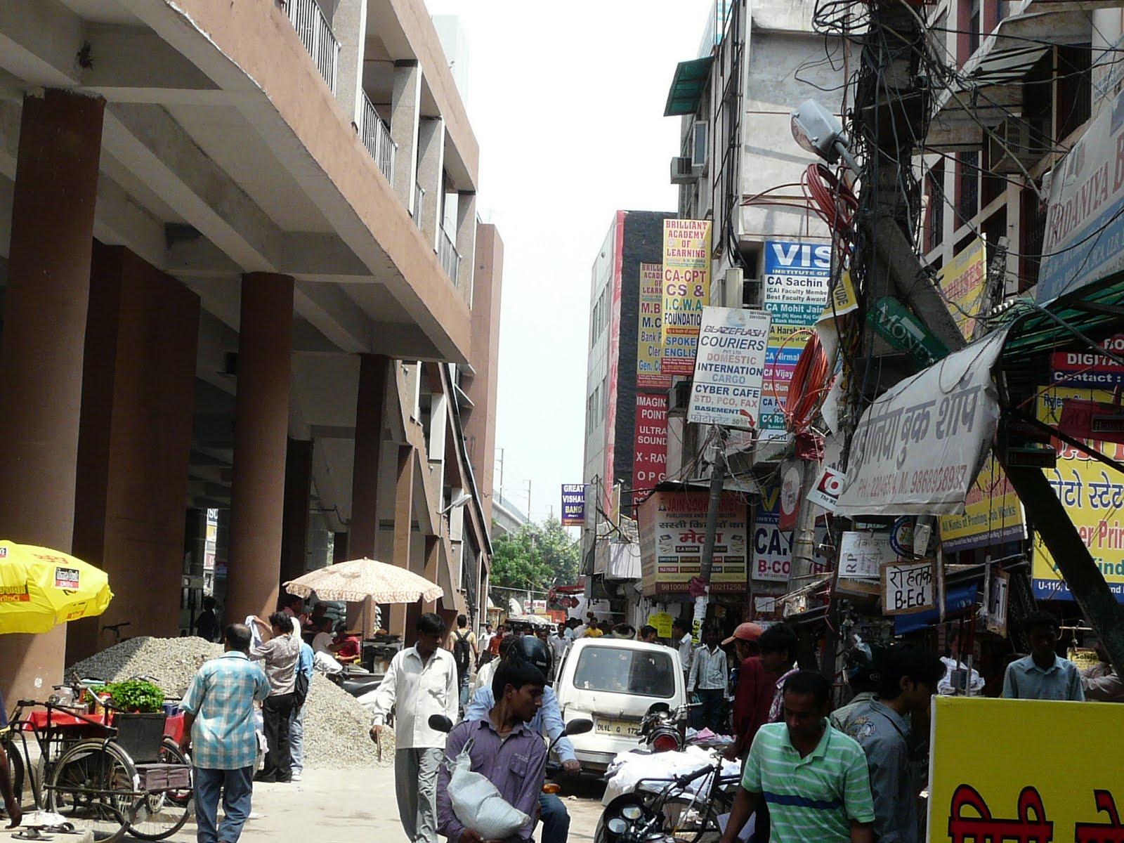 Chirag+delhi+metro+station