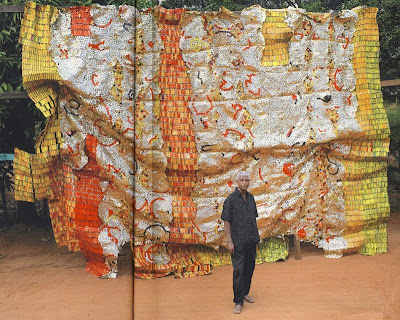el anatsui inspired artwork El anatsui: when i last wrote to you about africa will be on when i last wrote to you about africa is complemented by the art of el anatsui and.