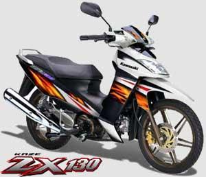 Gambar Motor Kawasaki ZX 130R 2010