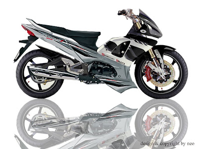 modifikasi honda supra-x