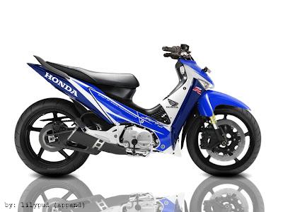 Modifikasi Motor Honda Supra X 125 PGM-Fi Injeksi