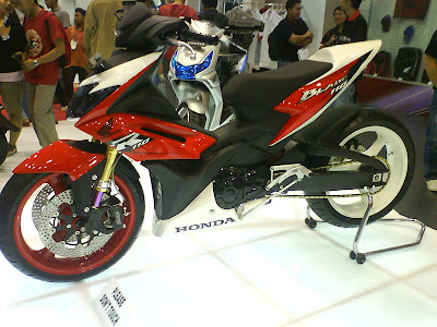 Rujukan Modifikasi Motor Honda Blade 110 cc
