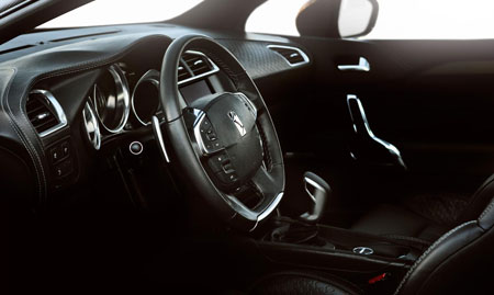 Citroen DS High Rider interior Design Photos