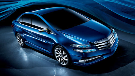 "2011 Honda Li Nian ""Everus"" sedan Pictures"
