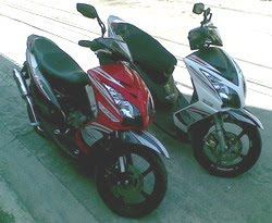 Yamaha Mio 125 cc Thailand Scooter Matic 2010