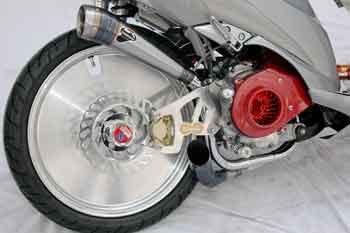 Modifikasi Motor Suzuki Spin 125 Kelas Fashion