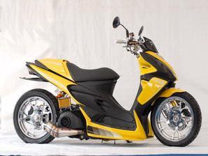 Motorcycle Stickers SkyDrive Suzuki 125