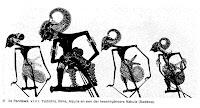 Gambar wayang kulit Tokoh Pandawa