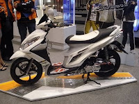 Gambar Modifikasi Motor Scooter New Suzuki Sky Drive