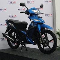 Motor TVS RockZ 125 cc 2010 Baru