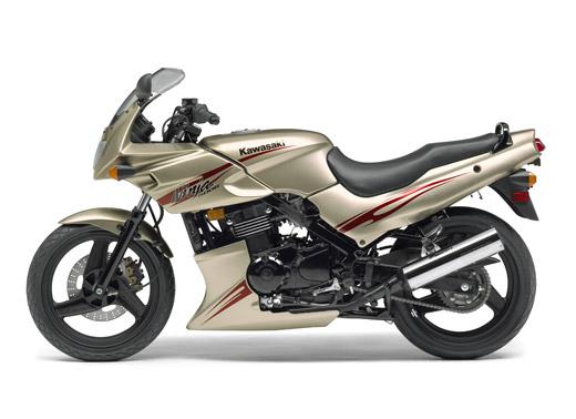 Kawasaki Ninja 500 R Silver Edition