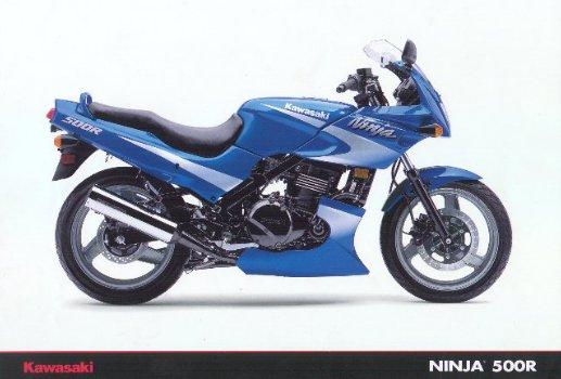 Kawasaki Ninja 500 R Blue Edition