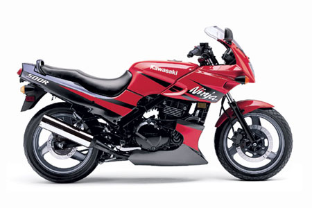 Kawasaki Ninja 500 R Red Edition