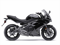 2009 Black Kawasaki Ninja 650 r Wallpaper