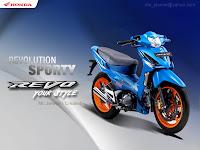 Gambar Modifikasi Honda absolute Revo 110 cc