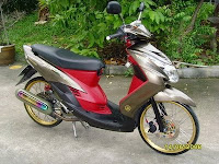 New Modifikasi Yamaha Mio Drag Thailand 2009