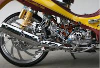 Gambar Modifikasi Motor Yamaha Jupiter zz Baru