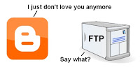 Blogger FTP