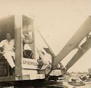 """Chepe"" en 1950 ya trabajando en la Aduana de La Guaira."