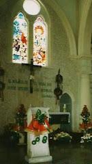 El altar: