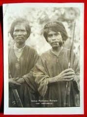 ¿INDIOS MOTILONES?, que vá. Estos son indios Bari colombianos: