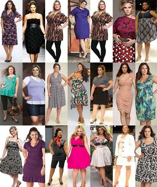 Moda Para Mulheres Acima Do Peso