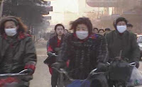 China's air quality - due to coal emission