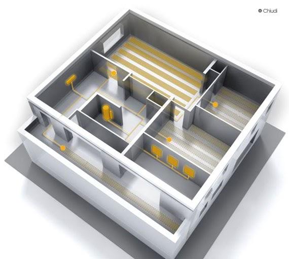 Riscaldamento a pavimento elettrico for Riscaldamento elettrico