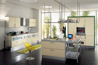 Kitchen Interior Design Wallpaper