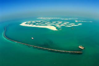 Dubai Island Wallpaper