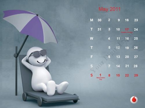 calendars 2011 may. Zoozoo Calendar May 2011 From