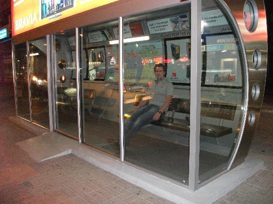 dubai air condition bus stand designs  photos collections