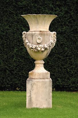 Parisian Urn-Tuscan Stone Aged