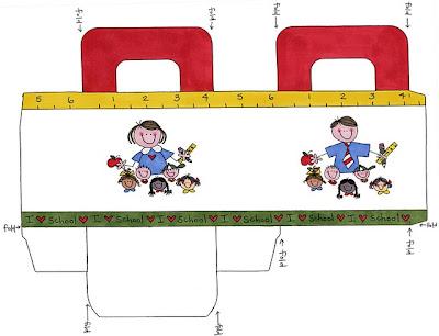 Preparando el regreso a clases. para infantiles y preescolares gratis