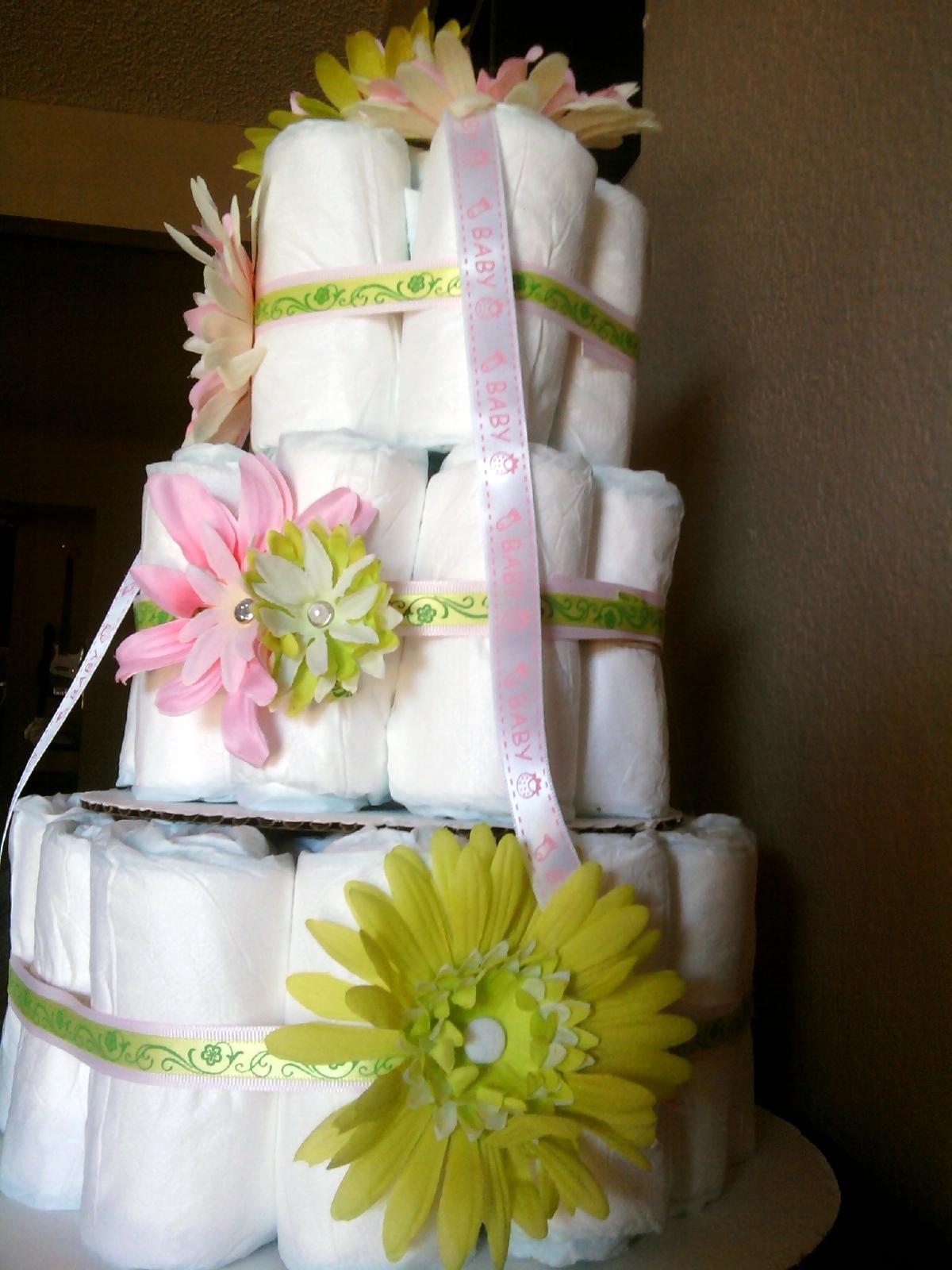 Diaper cake for wedding