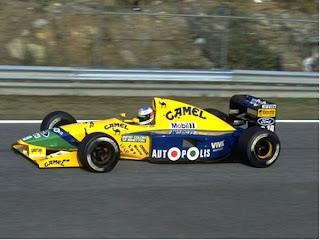 benetton, f1, 1991, schumacher, autoleyendas