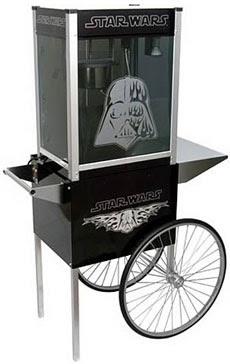 Darth Vader, maquina, palomitas