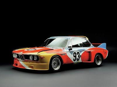 BMW, 3.0 CSL, Alexander Calder, 1971, Autoleyendas
