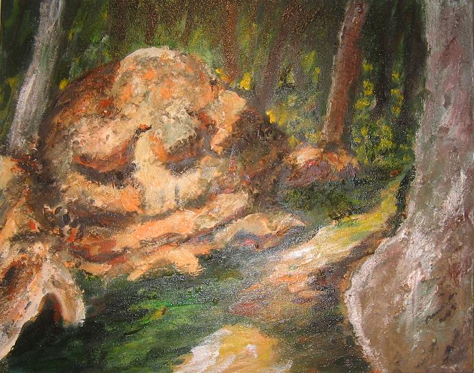 """Sleeping Monster"""
