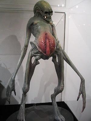Newborn Alien Genitalia The newborn alien should