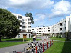 Foto das residências
