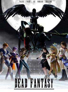 Dead Fantasy pequeno poster