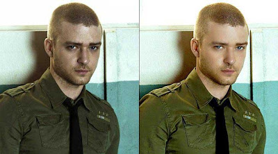 Justin Timberlake photoshop