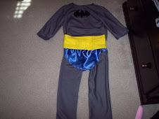 Vintage inspired Batman Costume
