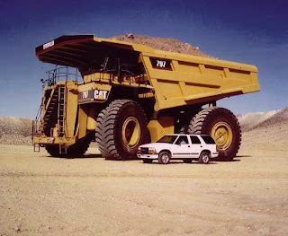 Kendaraan Truk Terbesar yang ada.