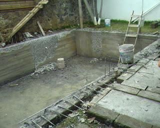 Construccion remodelacion de albercas de concreto armado for Videos de construccion de albercas